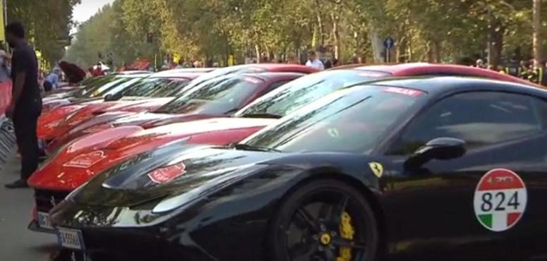 Video: Ferrari celebrates 70 years