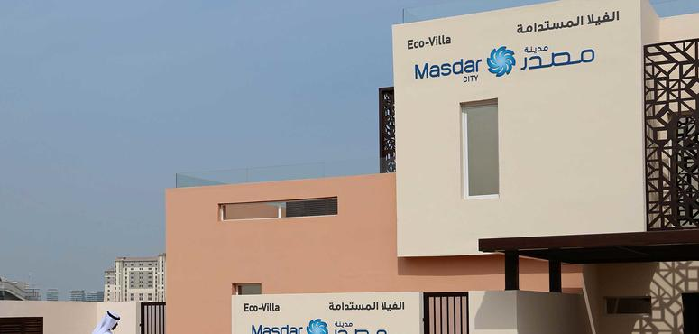 Masdar's eco-villas to be designed for Emirati households