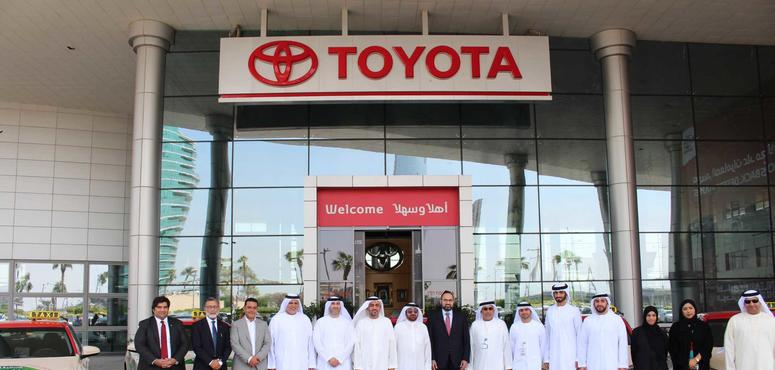 Dubai Taxi takes first batch of new Toyota Camry hybrids