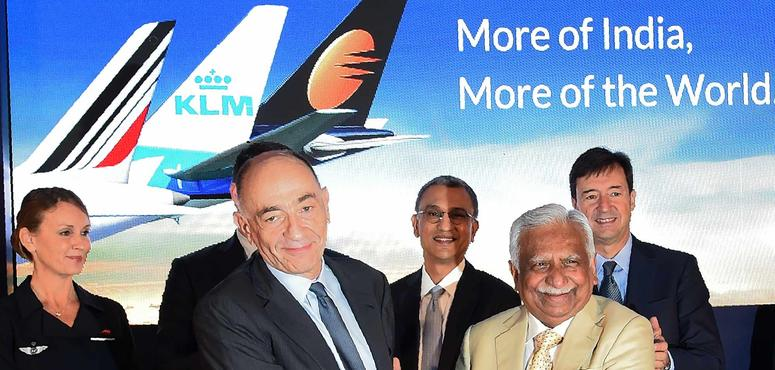 Air France-KLM extends India reach with Jet Airways revenue pact