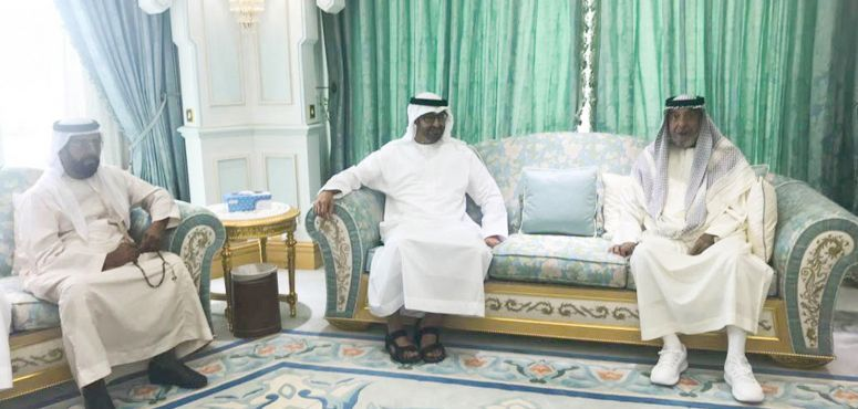 UAE, Saudi officials offer condolences to Sheikh Khalifa