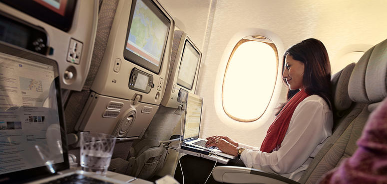 Emirates in global top three for WiFi access