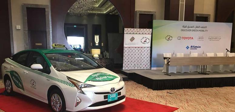 UAE taxi firm adds 50 hybrid cars to its fleet