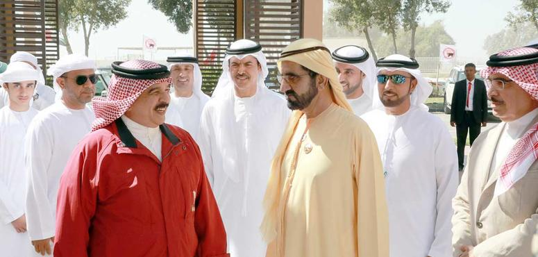 In pictures: Sheikh Mohammed and King Hamad attend HM The King of Bahrain Endurance Cup
