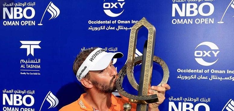 Dutchman Luiten wins inaugural Oman Open