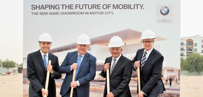 AGMC breaks ground on new BMW, MINI hub in Dubai