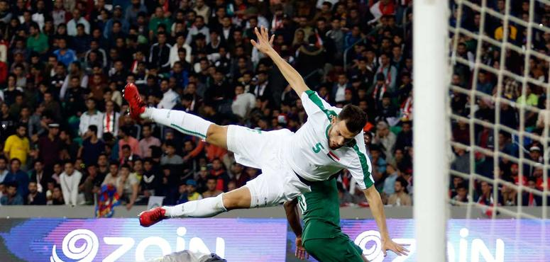 In pictures: International friendly between Iraq and Saudi Arabia in Basra