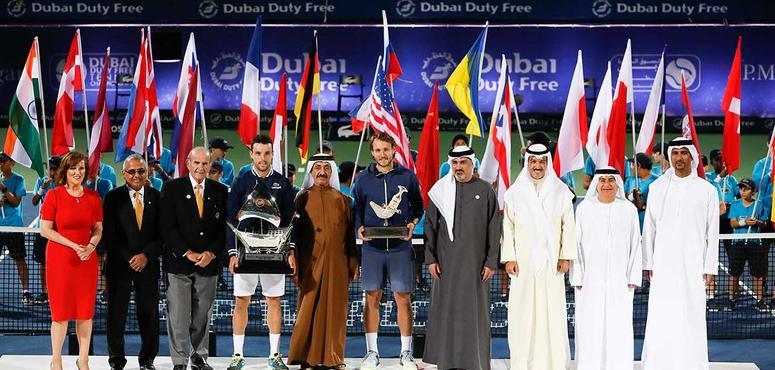 In pictures: Roberto Bautista Agut wins Dubai final