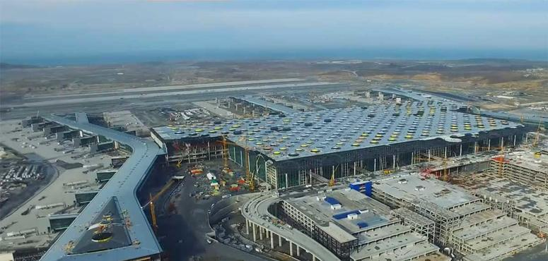 Istanbul's new airport 85% completed