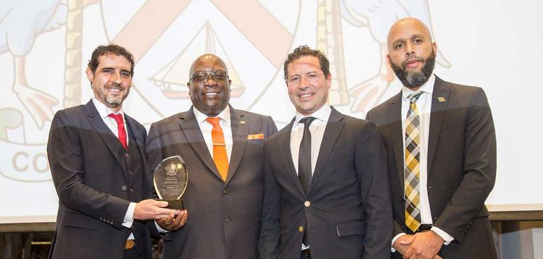 Citizenship by Investment leaders awarded by Prime Minister of St Kitts & Nevis for contributing to country's post-hurricane recovery