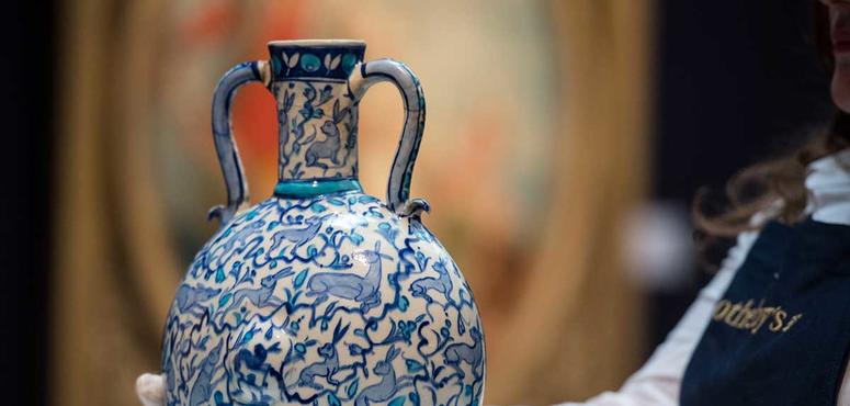 Arts of the Islamic World auction in London - in pictures