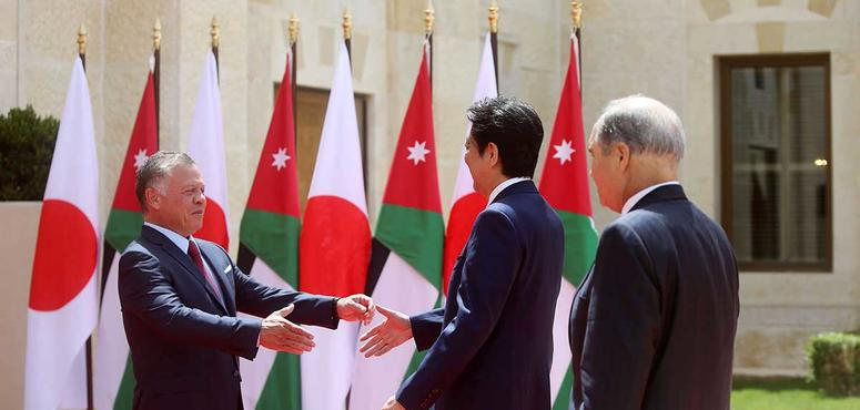 In pictures: Japanese Prime Minister visits Jordan