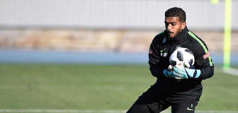 In pictures: Saudi Arabia's pre-world cup training session