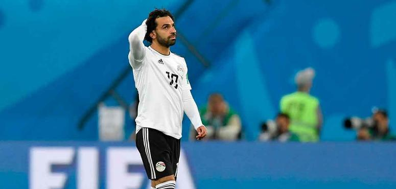 Disappointing return for Mohamed Salah as Egypt crushed by Russia