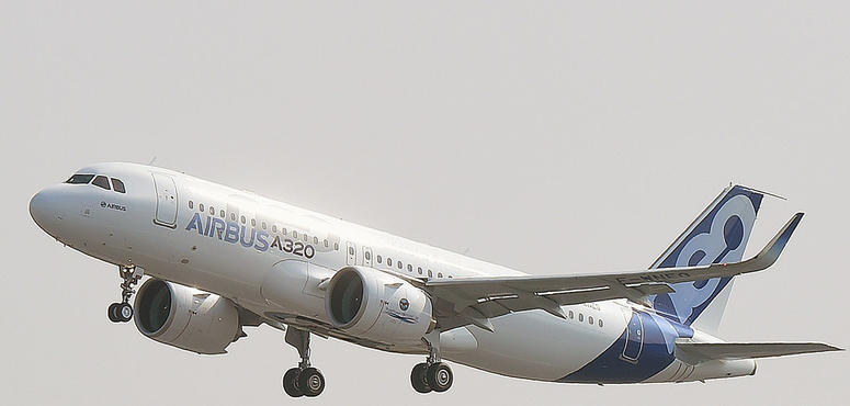 Airbus set to reassess output after virus hits jet demand