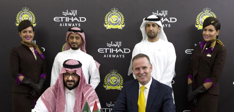 Etihad Airways signs shirt sponsorship deal with Saudi's Al Nassr FC