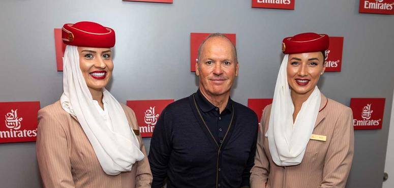 Gallery: Celebrities attend 2018 US Open with Emirates airline