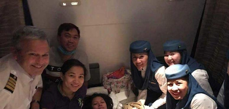 Baby delivered on board Saudi Arabia-Philippines flight