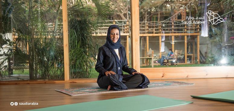 Gautam Chintamani pens biography of Saudi's first yoga teacher Nouf Marwaai