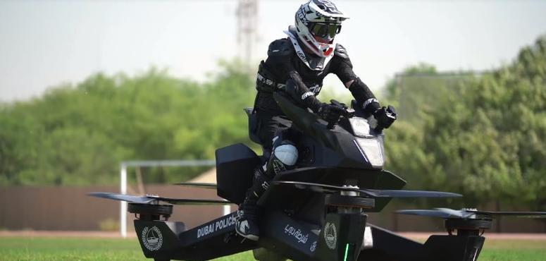 Dubai Police 'starts training' on flying bikes, eyes 2020 launch