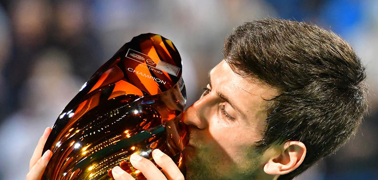 In pictures: World number one Novak Djokovic wins fourth Mubadala title
