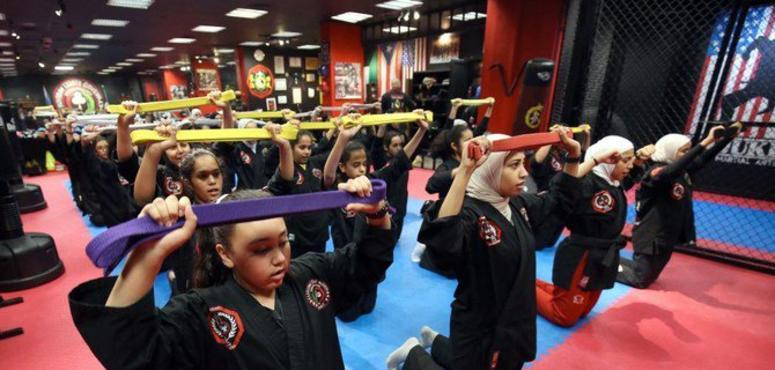 How Kuwaiti girls are using martial arts to counter bullies