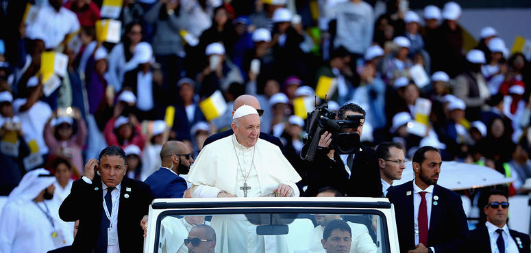 Documentary on Pope's historic UAE visit to premiere on Thursday