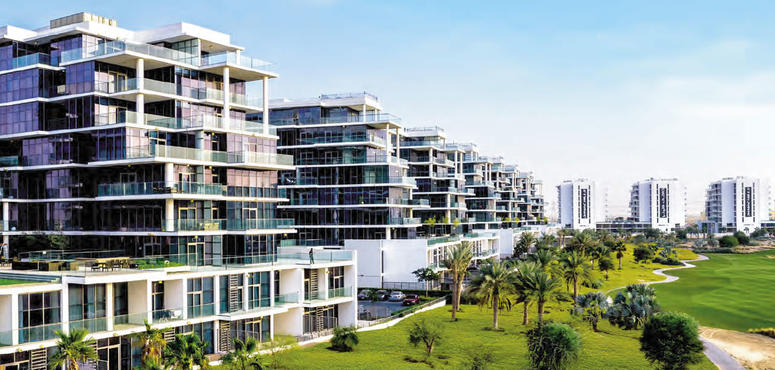 Damac unveils Golf Town apartment development