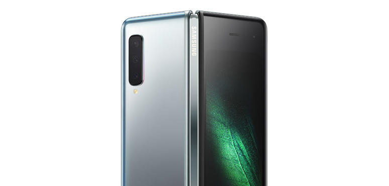 In pictures: Samsung unveiled folding smartphone and first Galaxy S10 5G version