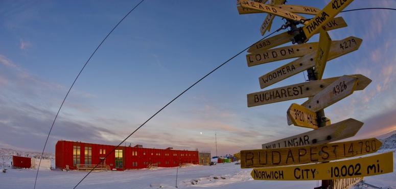 UAE's Masdar fits solar panels on Antarctic research centre