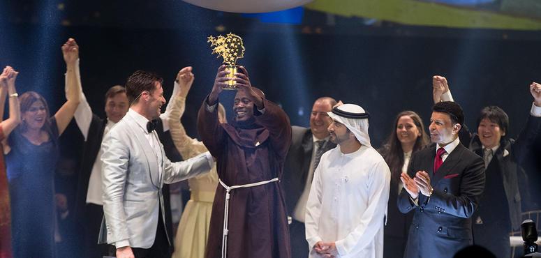 In pictures: Kenyan teacher Peter Tabichi wins Global Teacher Prize 2019 in Dubai