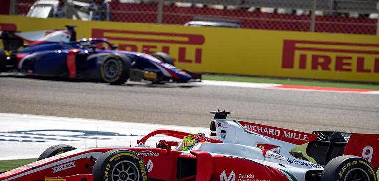 Mick Schumacher 8th on F2 debut in Bahrain