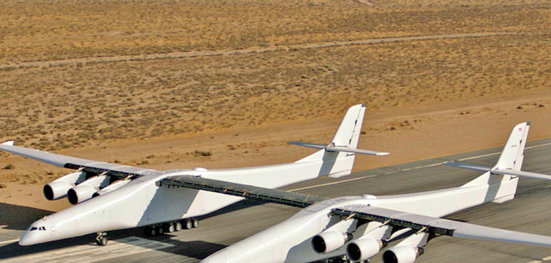 Video: World's largest plane Stratolaunch takes to the air