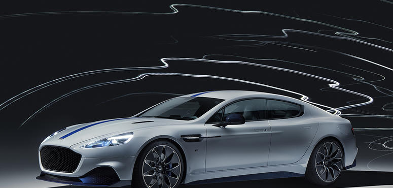 Gallery: Aston Martin's first electric car Rapide E