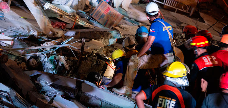 Another powerful quake rocks Philippines as deaths, damage rise