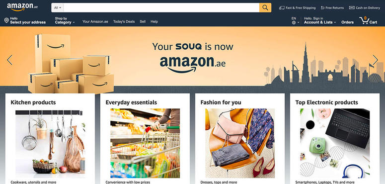 Amazon UAE set to offer discounts of up to 70% in 'Everything for You' sale