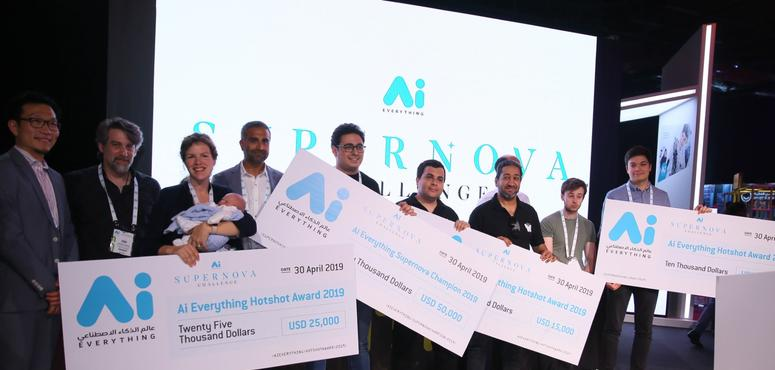 Four start-ups share $100,000 Supernova Challenge at AI Everything