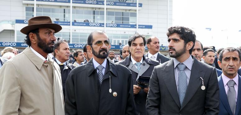 In pictures: Sheikh Mohammed attends 2000 Guineas horse race at Newmarket