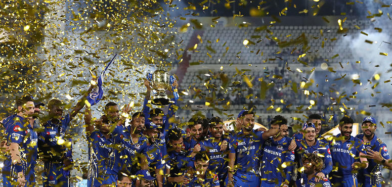 Gallery: Mumbai Indians clinch record fourth IPL title