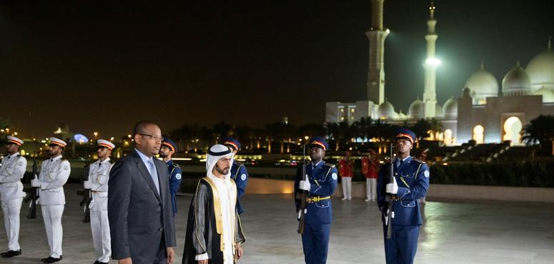 Prime Minister of Mali visits Abu Dhabi's Wahat Al Karama