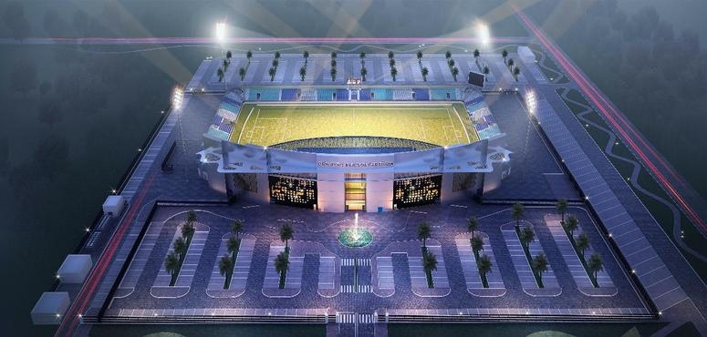 Foundation stone laid for $27m sports stadium in Fujairah