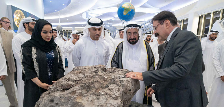 Gallery: Ruler of Sharjah attends the launch of four astronomical projects