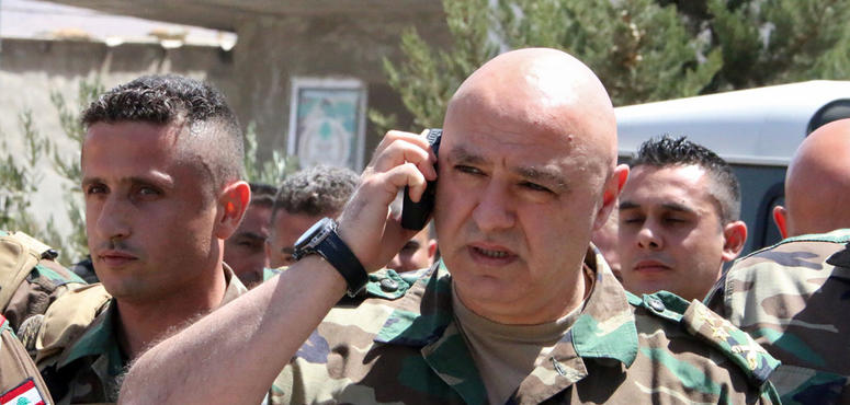 Lebanon army chief angry at country's austerity budget