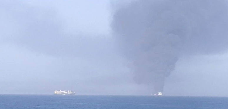 Two oil tankers evacuated after 'attack' in Gulf of Oman