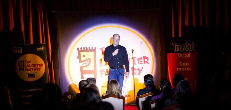 Dubai's Laughter Factory comedy club expects audience to grow by 20% yearly