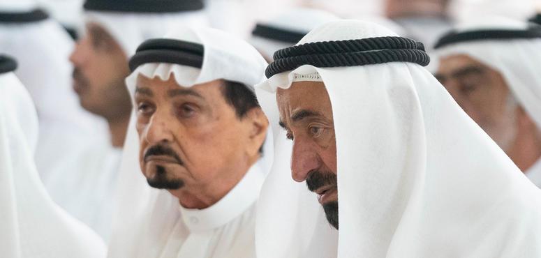Gallery: Sharjah ruler performs funeral prayers on Sheikh Khalid Al Qasimi