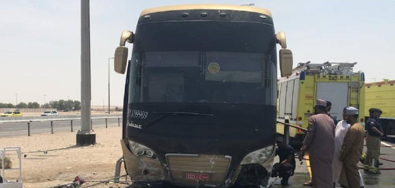 Bus carrying 52 pilgrims from Makkah crashes in UAE
