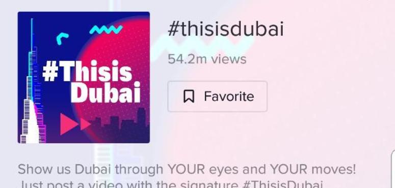 TikTok's Dubai tourism campaign attracts 54m views