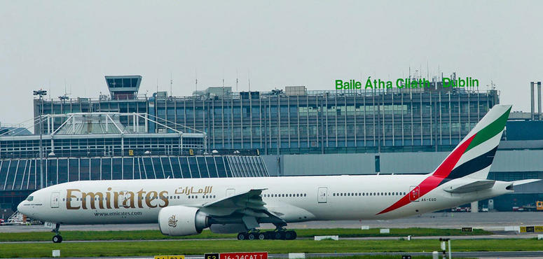 Emirates airline resumes cargo operations to Ireland