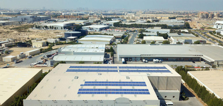 Video: Dubai fashion retailer builds solar plant on warehouse roof